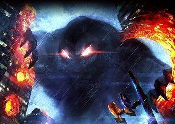 City Shrouded in Shadow – Ultraman, Godzilla, & Evangelion Collide!