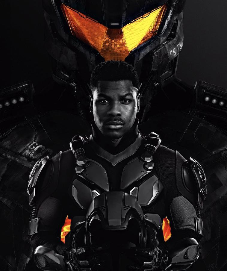 Pacific Rim: Uprising Posters – John Boyega Suits Up For Battle