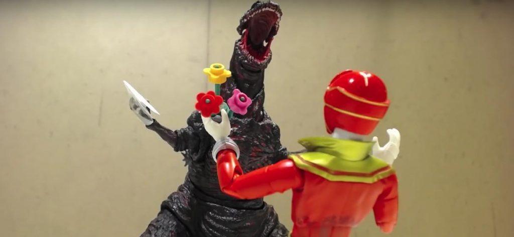 Godzilla vs GokaiRed: An Atomic Valentine