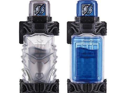 Toy Review: KAMEN RIDER BUILD DX Hazard Trigger, Smartphone Wolf & Unicorn Eraser Full Bottle Sets