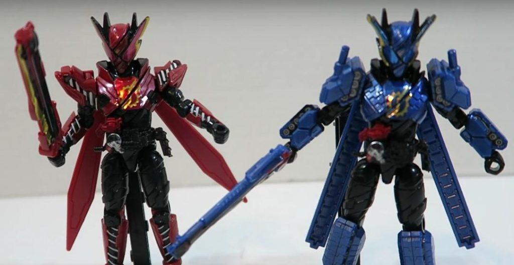 Toy Review: KAMEN RIDER BUILD SODO Figures Wave 8