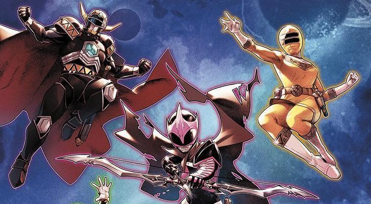 POWER RANGERS: New Creative Team, Lineup Revealed for BOOM! Studios Comics