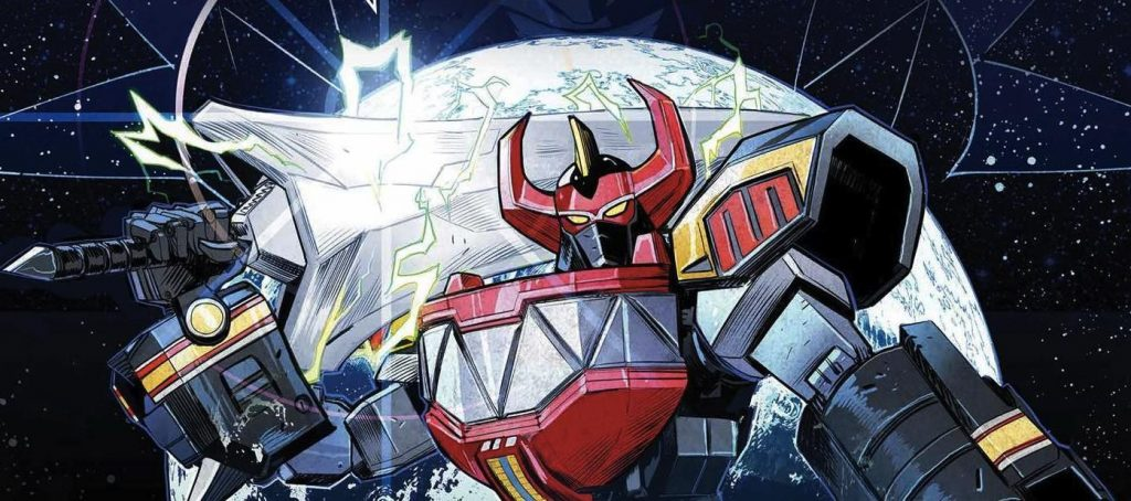 GO GO POWER RANGERS Vol.1 TPB from BOOM! Studios coming in July!