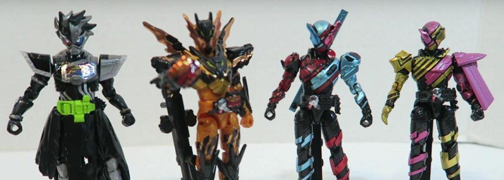 Toy Review: KAMEN RIDER BUILD SODO Figures Wave 9