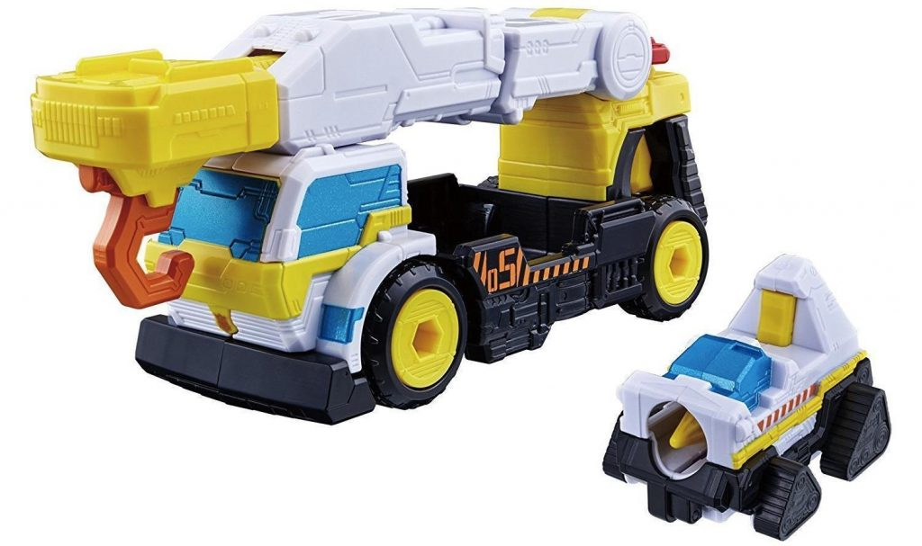 Toy Review: LUPINRANGER VS PATRANGER DX Trigger Machine Crane & Drill