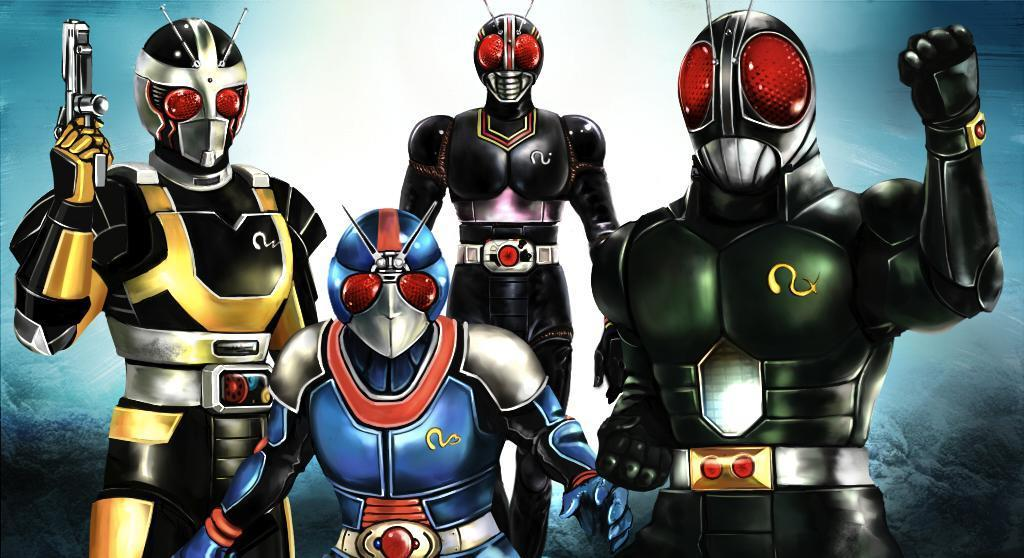 Evolve Your Senses With This KAMEN RIDER BLACK RX Cover