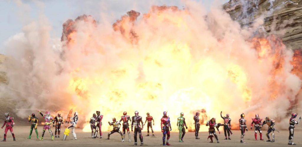 KAMEN RIDER HEISEI GENERATIONS FOREVER Trailer: The Gang's All Here